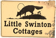 Little Swinton Fox Sign